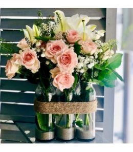 BOUQUET EN VASES