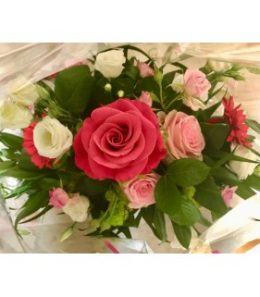 Bouquet rond rose